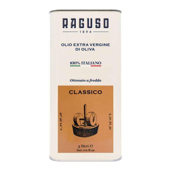 Olio Extravergine d'Oliva di Puglia 100% Italiano - Lattina 5 Litri