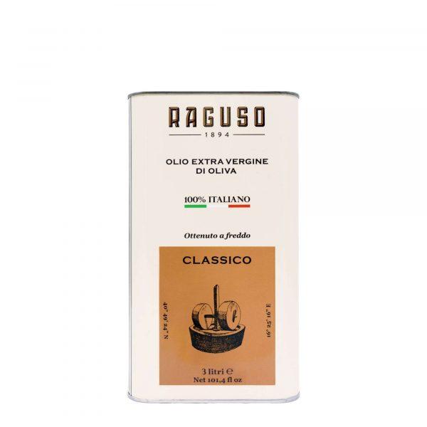 Olio Extravergine d'Oliva di Puglia 100% Italiano – Lattina 3 Litri